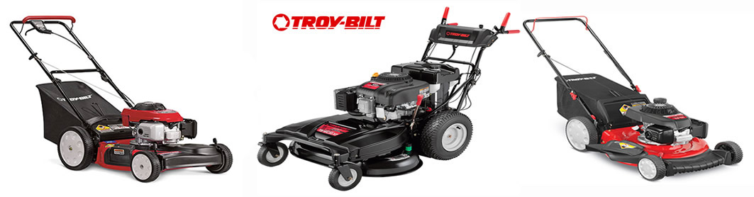 troy bilt lawn mowers