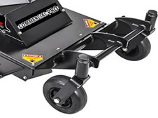 swisher predator commercial walk behind mower front wheels