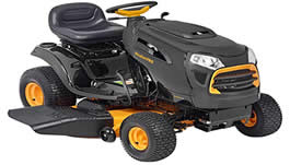 "Poulan Pro best 46"" riding lawn tractor"