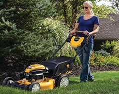 The Cub Cadet RWD in action