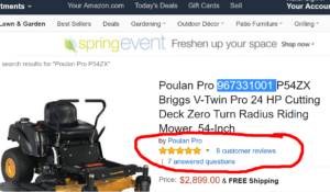 poulan pro reviews - best zero turn mower
