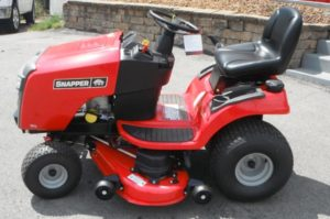 top snapper riding mower