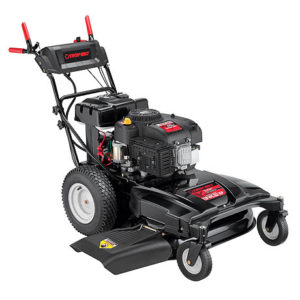 wc33 wide area walk behind mower