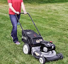 37430 craftsman lawn mower in action