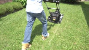 ego power electric mower