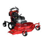52 inch Bradley Zero Turn Commercial Mower