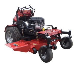 "Bradley 48"" stand on mower"