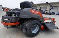 Husqvanra Z246 riding lawn mower side view