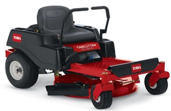 Timecutter riding mower with lever controls