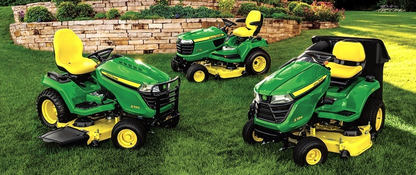 John Deere Riding Mower Range