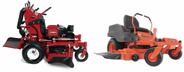 stand on mower vs riding mower