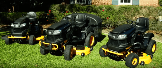 Riding mower range from Craftsman