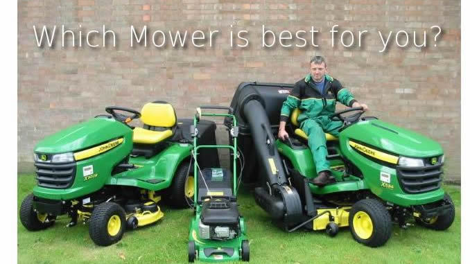 which lawn mower is the best fit for you?