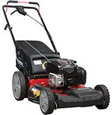 snapper gas powered mulching mower
