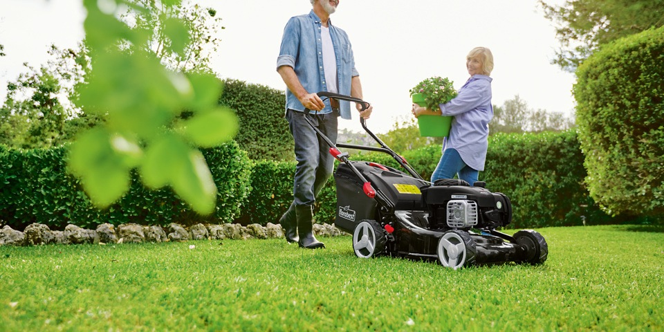 A perfect lawn requires a perfect lawn mower
