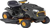 "Poulan Pro 46"" riding lawn mower"