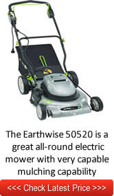 The Earthwise 50520 is a  great all-round electric mower with very capable mulching capability