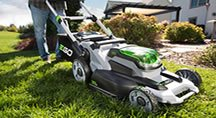 Ego Power+ mulching mower gives outstanding results every time