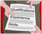 Check potential contractor's qualifications and experience