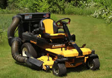 Cub Cadet Z-Force S with bagging attachment