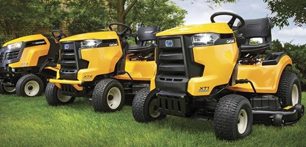 Cub Cadet XT1 and XT2 lawn tractors