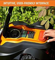 The Worx Landriod is fully programmable