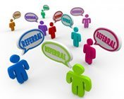 Get referrals from past customers