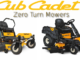 Cub Cadet Zero Turn Mowers