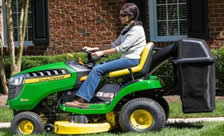 John Deere D125 Riding Mower
