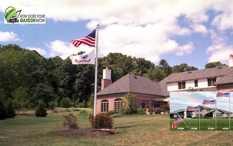best residential flag pole