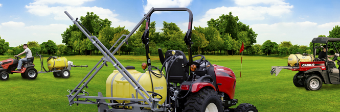 pull behind sprayers for lawn tractor