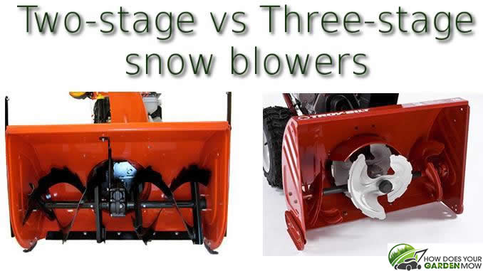 Two Stage vs Three Stage Snow Blowers