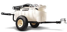Agri-fab 25 gallon - pull behind sprayer for lawn tractor